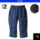 プラクティス3/4パンツ/メンズ(TP6487)《ディアドラ テニス・バドミントン ウェア(メンズ/ユニ)》