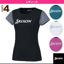 [スリクソン テニス・バドミントンウェア(レディース)]Tシャツ/レディース(SDL-8660W)