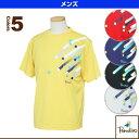 半袖プラクティスシャツ/メンズ(ECM21A)《パラディーゾ テニス・バドミントン ウェア(メンズ/ユニ)》