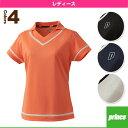 [プリンス テニス・バドミントンウェア(レディース)]ゲームシャツ/レディース(WL6151)