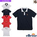 ポロシャツ/ユニセックス(ETS06200)《エレッセ テニス・バドミントン ウェア(メンズ/ユニ)》