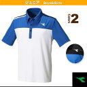 JR ゲームシャツ/ジュニア(DTJ7330)《ディアドラ テニス ジュニアグッズ》