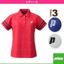 ゲームシャツ/レディース(TML158T)《プリンス テニス・バドミントン ウェア(レディース)》