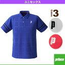 ゲームシャツ/ユニセックス(TMU155T)《プリンス テニス・バドミントン ウェア(メンズ/ユニ)》