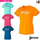 Tシャツ/レディース(SDL-8723W)《スリクソン テニス・バドミントン ウェア(レディース)》テニスウェア女性用