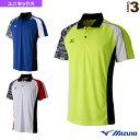 [ミズノ テニス・バドミントンウェア(メンズ/ユニ)]ゲームシャツ/ユニセックス(62JA7013)