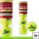 [ダンロップ テニスボール]【旧パッケージ品】St.JAMES(セントジェームス)4球入『1缶/4球入』(STJAMESE4TIN)