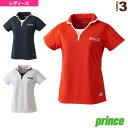 ゲームシャツ/レディース(WL7150)《プリンス テニス・バドミントン ウェア(レディース)》