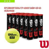 エントリーでポイント10倍以上になるキャンペーン開催中!6月11日9時59分まで [ウィルソン テニス ボール]RF LEGACY BALL/ アールエフ レガシーボール/4球入×18缶』(WRT11990M)の画像