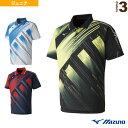 樂天商城 - [ミズノ テニス ジュニアグッズ]ゲームシャツ/ジュニア(62JA8001)