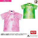ゲームシャツ/JTTA公認マーク付/レディース(XLP-465xP)《ルーセント 卓球 ウェア(レディース)》