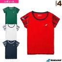 babolat - ゲームシャツ/カラープレイライン/レディース(BTWMJA12)《バボラ テニス・バドミントン ウェア(レディース)》