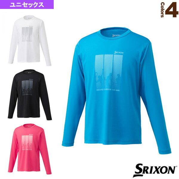 ロングスリーブTシャツ/ツアーライン/ユニセックス(SDL-8842)《スリクソンテニス・バドミント
