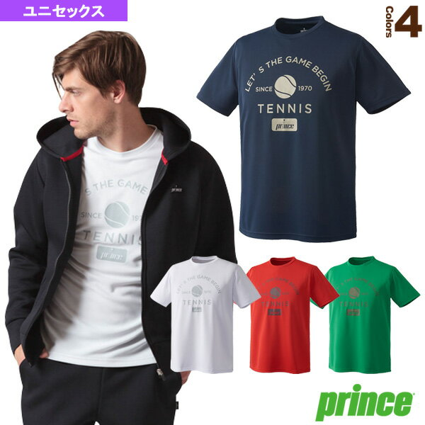 Tシャツ/ユニセックス(WU8031)《プリンステニス・バドミントンウェア(メンズ/ユニ)》テニスウ