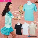 ショートスリーブシャツ/フラッグシップライン/レディース(BTWNJA00)《バボラ テニス・バドミントン ウェア(レディース)》