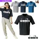 ロゴTシャツ/ユニセックス(DGC9515)《ディアドラ オールスポーツ ウェア(メンズ/ユニ)》
