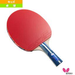 <strong>張本智和</strong> 1800 キッズ/ラバーばりラケット(16960)《バタフライ 卓球 ラケット》