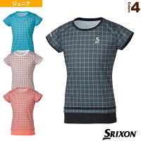 ゲームシャツ/ガールズ(SDP-1962WJ)《スリクソン テニス ジュニアグッズ》の画像