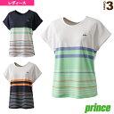 ゲームシャツ/レディース(WS0015)《プリンス テニス・バドミントン ウェア(レディース)》