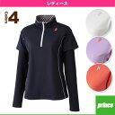 ロングスリーブシャツ/レディース(WL5171)《プリンス テニス・バドミントン ウェア(レディース)》