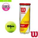 CHAMPIONSHIP EXTRA DUTY/チャンピオンシップ・エクストラ・デューティー/1缶3球入(WRT100101)《ウィルソン テニス ボール》