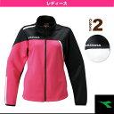 W トレーニングジャケット/レディース(TL6142)《ディアドラ テニス・バドミントン ウェア(レディース)》