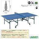 [送料別途]卓球台/内折・連動式(VK-25)《ユニバー 卓球 コート用品》