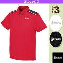 ポロシャツ/ユニセックス(SDP-1342)《スリクソン テニス・バドミントン ウェア(メンズ/ユニ)》
