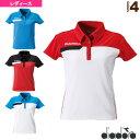ゲームシャツ/レディース(TL5345)《ディアドラ テニス・バドミントン ウェア(レディース)》