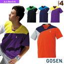 網球 - [ゴーセン テニス・バドミントン ウェア(メンズ/ユニ)]ゲームシャツ/ユニセックス(T1506)