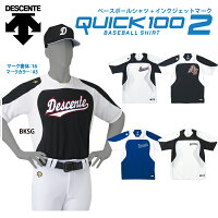 DESCENTE【デサント】野球ユニフォーム マーキングセット Quick 100 II ベースボールシャツ DB-115 クイック100の画像