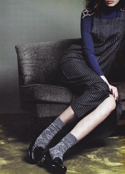 【メール便OK】[インポート・ソックス/イタリア製]シンプルなのにエレガント。どんな服にも似合いそう。Omero/Roche