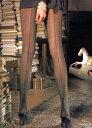 [インポート・バックシームストッキング/イタリア製]つま先→足裏→シームに続く、タワーヒール型バックシーム。チュール地をベースにしています。トラスパレンツェ/ペ...