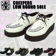TUK Creepers Low Round 通販 Sole 厚底 パンクなスニーカー・ラバーソール シューズ・靴 通販/正規品 おすすめ