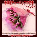 【春限定花束】【成人式】【春限定】【バレンタイン】入荷しました。チューリップの花束!!【送料無料】『ピンク系!チューリップ20本入りで大切なあの人に思いを贈ろう...