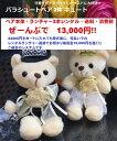 【送料無料】可愛いからゲストが欲しがる!パラシュートベア レンタルランチャー付で13,000円