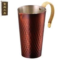 食楽工房 酒タンポ(ちろり) CNE41 (日本製・国産・銅製チロリ) [a]