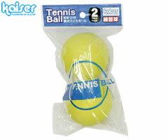 カワセ/カイザー  軟式テニスボール 2P イエロー KW-240Y (軟式テニス・ボール・練習用)