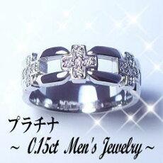 【送料無料/70%OFF】新作☆Men's☆高級プラチナダイヤモンド/メンズピンキーリング