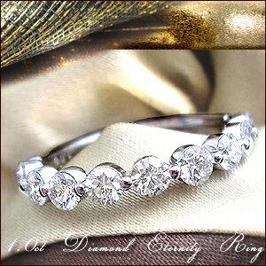 ダイヤモンドエタニティリング カラット