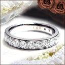 K18 1.0ctダイヤモンドエタニティリング『Eternity Ring』『フチありエタニティ』1