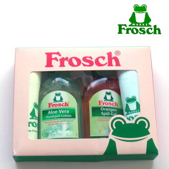 Unless the stock! Frosch (Frosch) dish ピカピ cassette (minibottle Aloe Vera & Orange cleaner & マイクロティッシュ 2) gift set kitchen detergents gift party Grand opening celebration wedding celebration 10P_021510P17aug13