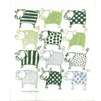 Nordic sponge wipe Leena-Carlson リトルピックズ (Lena M. Karlsson) (cloth Tea towel, kitchen wipes) klippan ( KLIPPAN ) 10P22Nov12 moving celebration Grand opening celebration gift towel gift 10P_021510P28oct13 birth celebration