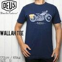 [クリックポスト対応] Deus Ex Machina デウス エクス マキナ WALLAH TEE 半袖Tシャツ DMP81147B