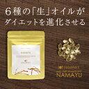 サプリメント 亜麻仁油 【サラダメント NAMAYU(90粒