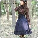 スカート ハイウエストスカート   merveilleux rose(メルヴェイユ・ローズ)【ゴシック/ゴスロリ】
