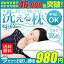 【楽天最安値に挑戦!送料無料/数量限定】丸ごと洗える枕 ふか...
