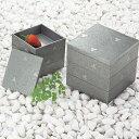 ショッピングランチボックス 【日本製】GIN 4.0 三段重【和食器 漆器 重箱 弁当箱 正月】