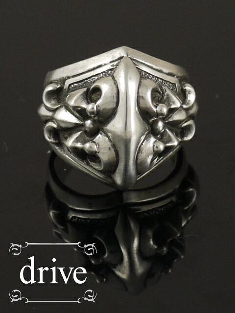 drive[ガイア] (シルバーアクセサリー/シルバーアクセ/シルバー/シルバー925/Silver925/銀/ゴシック/攻撃/攻撃的ゴシック/ドライブ/ドライヴ/リング/指輪/メンズ/レディース/ユニセックス/クロス/十字架/)