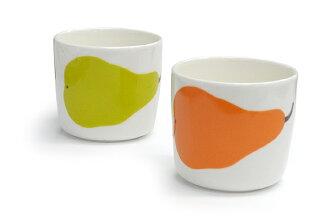 Marimekko Marimekko sublimate latte mugs pieni paaryna PEAR